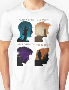 The Four New Doctors( Doctor Who) T-Shirt
