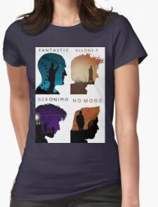 The Four New Doctors( Doctor Who) Womens Fitted T-Shirt