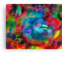 Turn that frown upside down Canvas Print