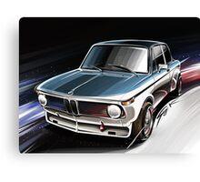 BMW 2002 Turbo (E20) Canvas Print