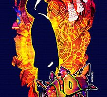10 DW Banksy - Greeting Card by ifourdezign