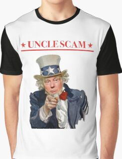 Donald Trump is Uncle Scam! Graphic T-Shirt