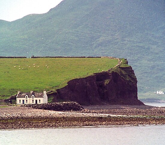 Cottages, Ring of Kerry, Ireland by johnrf