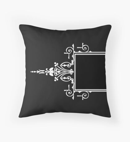 Vintage Labels Throw Pillow