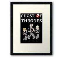 Ghost of Thrones Framed Print