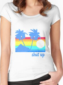 Shut Up Women's Fitted Scoop T-Shirt
