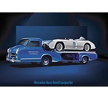 Mercedes-Benz Rennwagen-Schnelltransporter Photographic Print