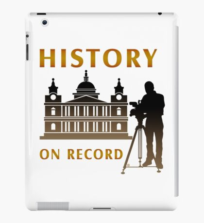 History On Record iPad Case/Skin