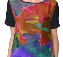 Orchid Alter Ego Chiffon Top