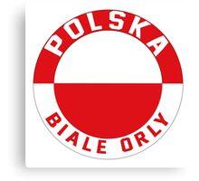 Polska Euro 2016 France Canvas Print