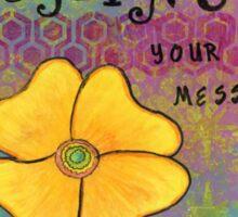 Shine--Healing Flowers Sticker