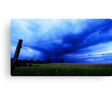 Landscape - stormy day (2016) Canvas Print
