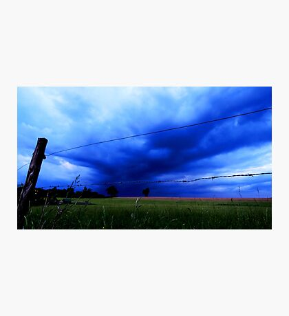 Landscape - stormy day (2016) Photographic Print