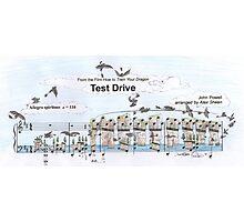Test Drive Sheet Music Art Photographic Print
