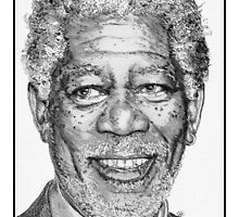 Morgan Freeman in 2007 by JMcCombie