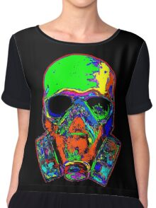 Toxic skull (green) Chiffon Top
