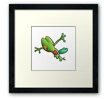 Epic Treecko Framed Print
