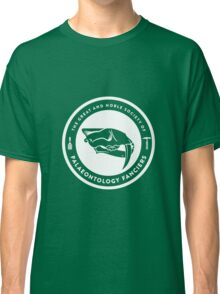 The Society of Palaeontology Fanciers (White on Dark) Classic T-Shirt