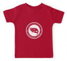The Society of Palaeontology Fanciers (White on Dark) Kids Tee