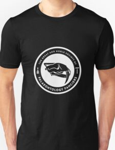 The Society of Palaeontology Fanciers (White on Dark) Unisex T-Shirt