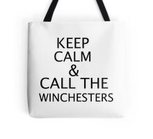 KEEP CALM - WINCHESTERS Tote Bag