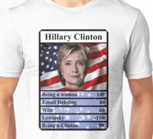 Hillary Clinton Top Trump USA Presidential  Election 2016 Unisex T-Shirt
