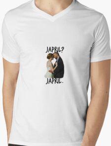 Japril? Japril. Mens V-Neck T-Shirt