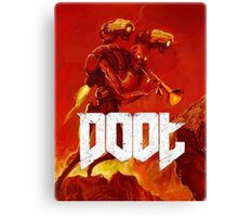 Doot Toot (Doom Shirt) Style #1 Canvas Print