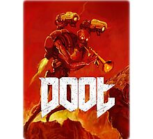 Doot Toot (Doom Shirt) Style #1 Photographic Print