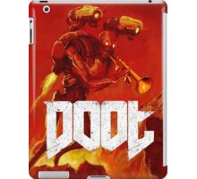 Doot Toot (Doom Shirt) Style #1 iPad Case/Skin