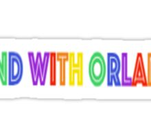 Stand With Orlando Sticker