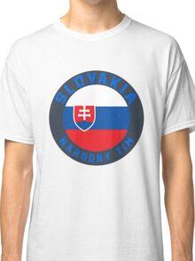 Slovakia Euro 2016 France Classic T-Shirt