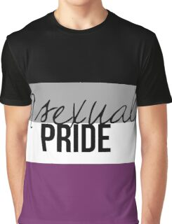 Asexual Pride Graphic T-Shirt