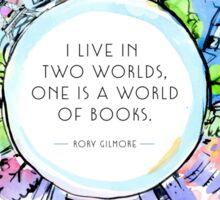 Rory Gilmore Bookish World Sticker