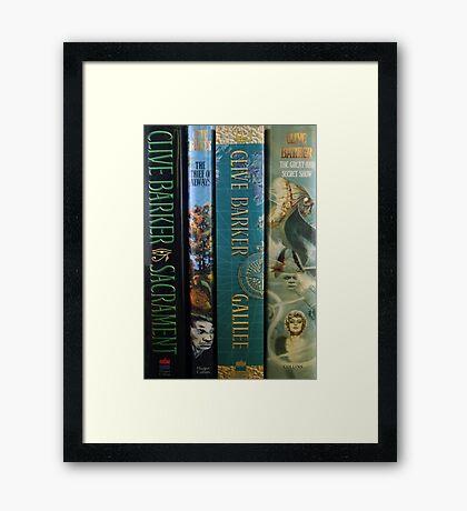 Clive Barker HC Framed Print