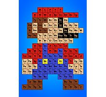 Periodic Mario Table Photographic Print