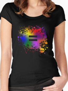 Equality Ink Women's Fitted Scoop T-Shirt