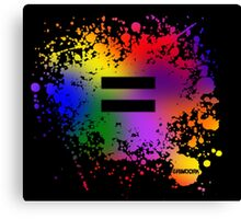 Equality Ink Canvas Print