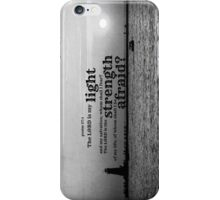 Psalm 27 Lord is My Light iPhone Case/Skin