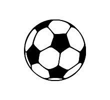 Soccer football Photographic Print