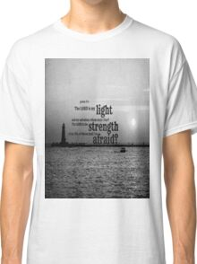 Psalm 27 Lord is My Light Classic T-Shirt