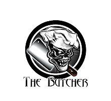 Butcher Skull Photographic Print