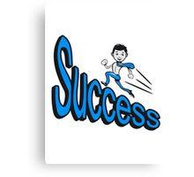 success Canvas Print