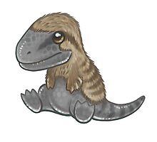 Tyrannosaurus Chick Photographic Print