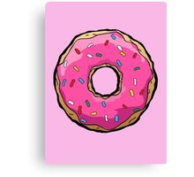 Simpsons Donut Canvas Print