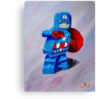 Captain Lego Canvas Print