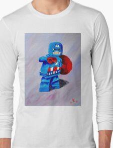Captain Lego Long Sleeve T-Shirt