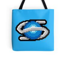 Pixel Saturn Tote Bag