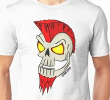 Punk Skull Unisex T-Shirt