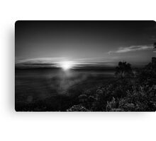 twilight comes  Canvas Print
